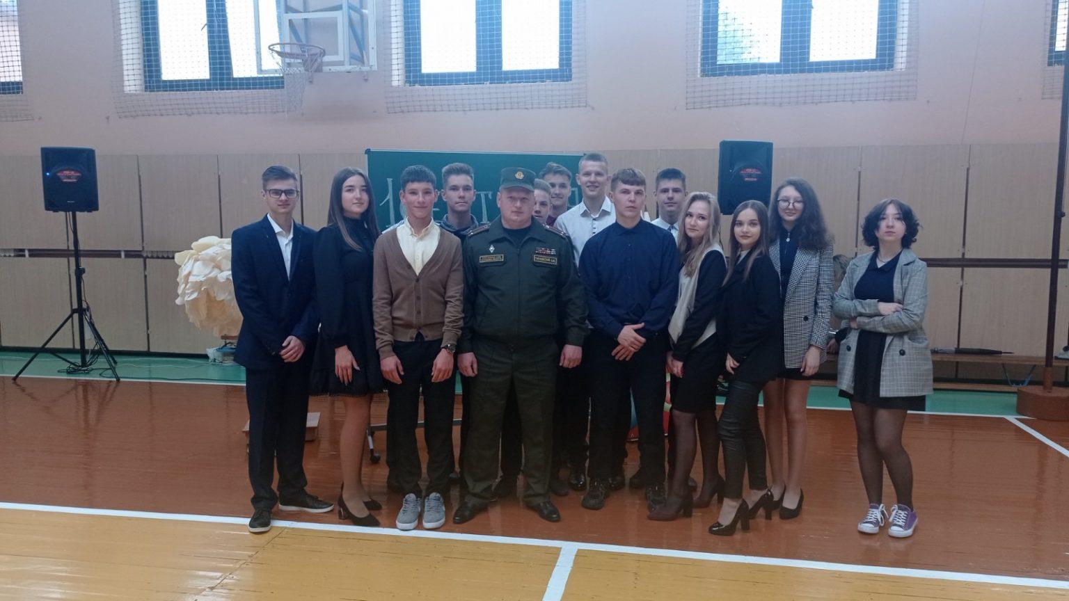 Вороновская СШ (линейка)